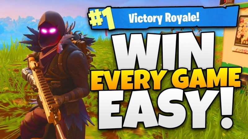 HOW TO WIN IN FORTNITE BATTLE ROYALE - VICTORY ROYALE GUIDE